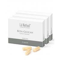 Lá Nativá® Beta Glucan Capsules Natures (Бета глюкан) 30 капсул 120 мг.